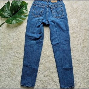Levi's orange tab straight leg mom jean